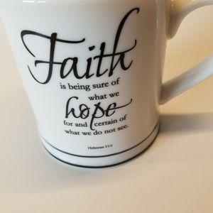 Hebrews 11:1 FAITH MUG NEW